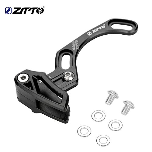 T-best Aluminium Alloy Ultralight Bike Chain Guide ISCG 05 Direct Mount Chainring Chain Protector(Black) ()