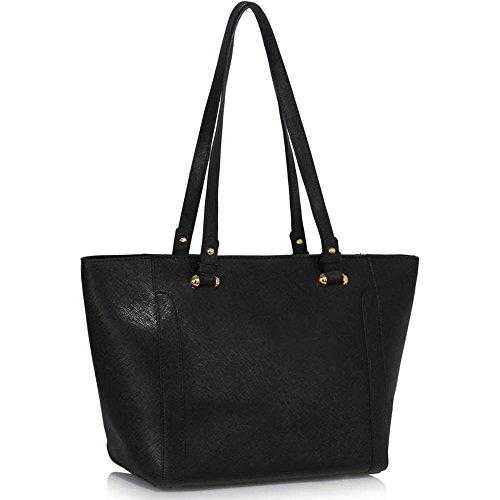Trend Star Damen Konstrukteur Damen Taschen breit Käufer Tasche falsch Leder Schulter Taschen