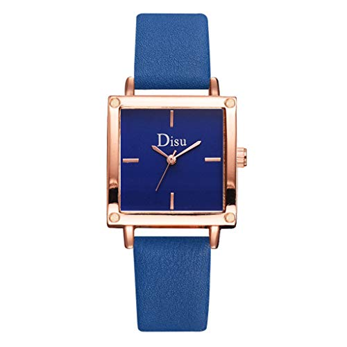 chenqiu Fashion Simple Square Digital Quartz Watch, Ladies Quartz Stainless Steel Strap Casual Fashion Diamond Waterproof - Platinum Case Diamond Watch Strap