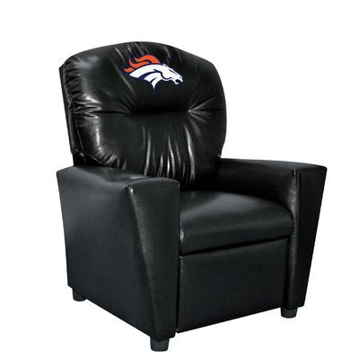 Imperial Officially Licensed NFL Furniture: Youth Faux Leather Recliner, Green Bay (Green Child Recliner Chair)