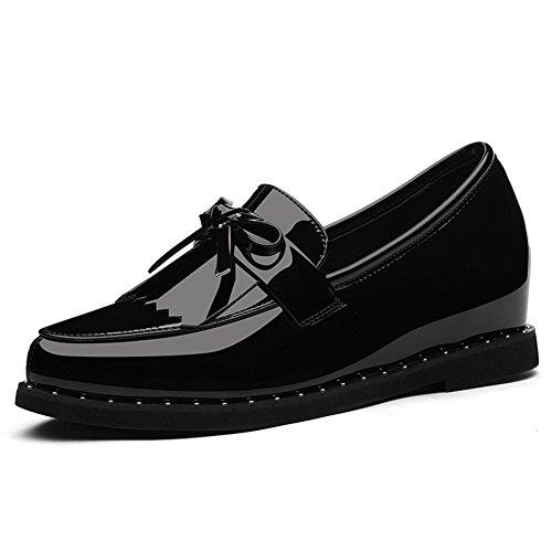 Transpirable 1 Casual Individuales Eu35 De Tamaño Fondo 2 Plano T Mujer Zapatos Moda Cuero T color uk3 Qidi 08qw4Rx