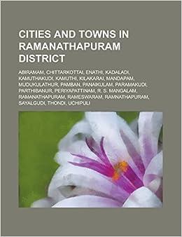 Cities and Towns in Ramanathapuram District: Abiramam