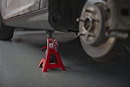Torin T43002A 3 Ton Double Locking Jack Stands (Sold in Pairs)