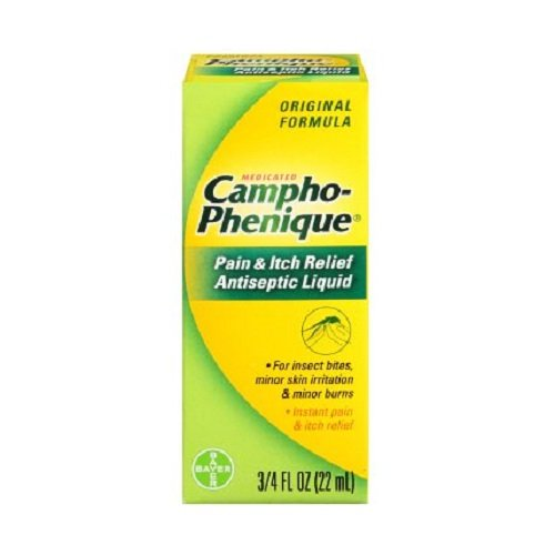 Campho-Phenique Pain & Itch Relief Antiseptic Liquid 0.75 fl oz (Pack of 3)