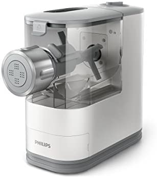 Philips HR2345/19 Machine à Pâte Automatique, 4 Disques de Forme, Blanc