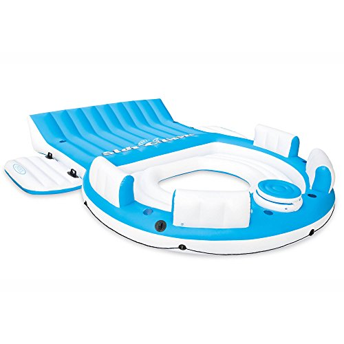 Centers Oversized 8 - Intex Relaxation Island Blue White