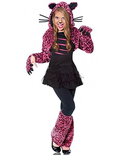 Cat Costume Ideas For Girl (Costume Culture Bad Kitty Girl's Costume, Pink, Medium)