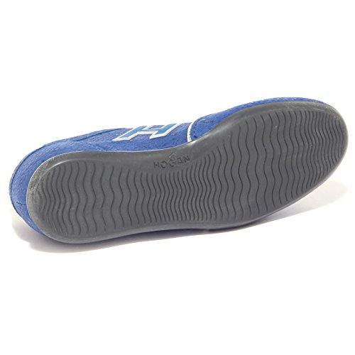 Blu blu argento HOGAN donna woman 4078Q scarpa OLYMPIA sneaker nwFzCIq8xq