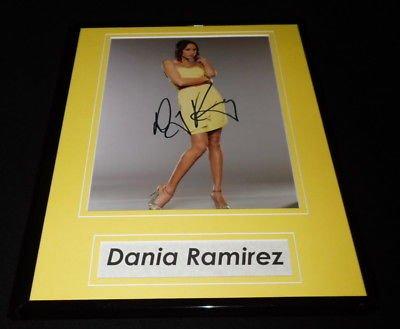 Dania Ramirez Signed Framed 11x14 Photo Display AW Heroes Entourage Sopranos