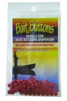 BAIT BUTTONS Original Refill, Rust (Best Bait For Sturgeon Fishing)