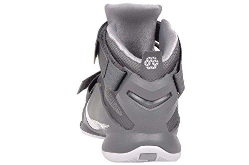 Nike Lebron Soldier Ix - Calzado Deportivo para hombre Gris / Blanco (Cool Grey / White-Wolf Grey)