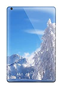 (dPr8855PccO)durable Protection Cases Covers For Ipad Mini(snow Fal)