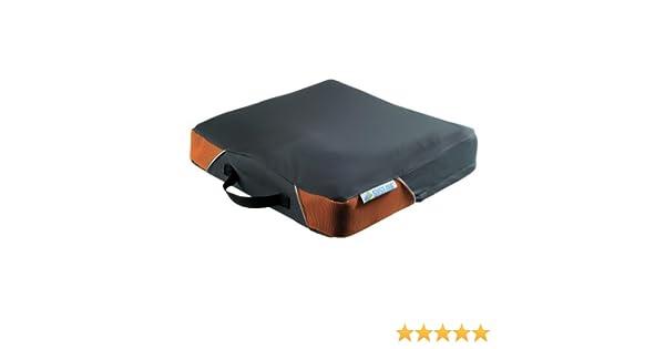 Systam P361C Viscoflex-cojín contra escaras maletín para portátiles de hasta grado 2 negro 48 x 43 x 8 cm