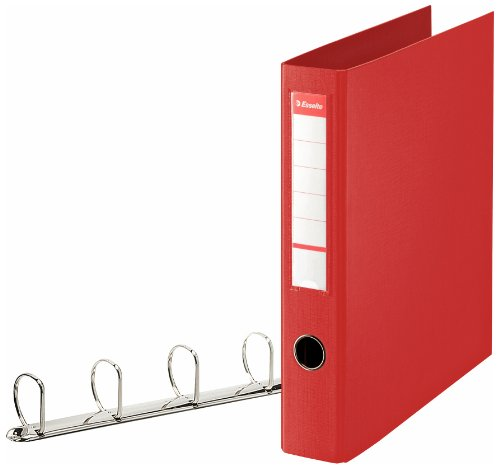 Esselte 2 Round Rings A4 Ring Binder 4 cm Ring ()
