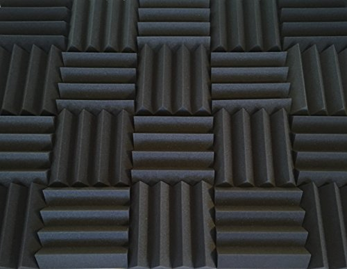 soundproofing-acoustic-studio-foam-kit-wedge-style-panels-3x12x12-tiles-2-pack-bundle-noise-deadenin