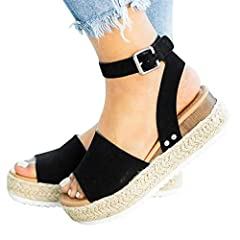 We love the wedge heel to give us the perfect boost in height,and elongate the sexy legs while keep balance