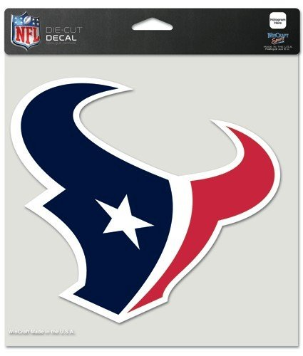 WinCraft NFL Houston Texans Perfect Cut Color Decal, 8