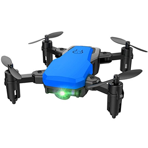 Yezijin Unmanned aerial vehicle, SG800 Mini Foldable 2.4Ghz RC Quadcopter Pocket Helicopter Drone Altitude Hold (Blue) by Yezijin