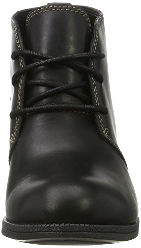 Leather Stivali Combat Black Flora Donna Clarks Nero Maypearl txFE0q7wC