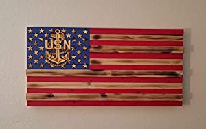 Navy challenge coin CPO flag/challenge coin display