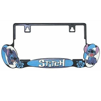 Amazoncom License Frame Stitch Lilo Stitch Disney Toys Games