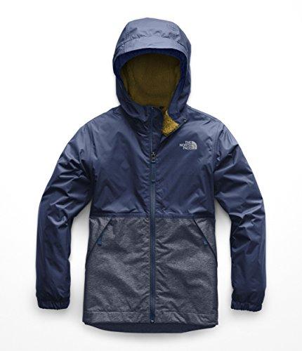 The North Face Boys Warm Storm Jacket - Shady Blue - XXS ()