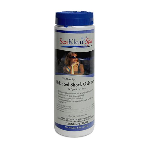 SeaKlear Spa Balanced Shock Oxidizer for Spas & Hot Tubs, 2 lb