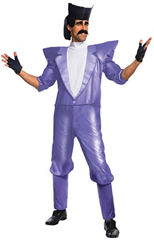 Evil Minions Costumes (Rubie's Costume Co Despicable Me 3 Balthazar Bratt Costume, As Shown,)