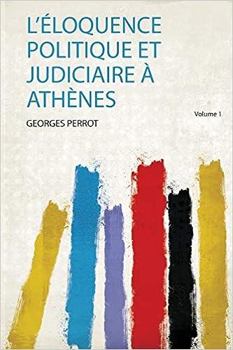 L'éloquence Politique Judiciaire