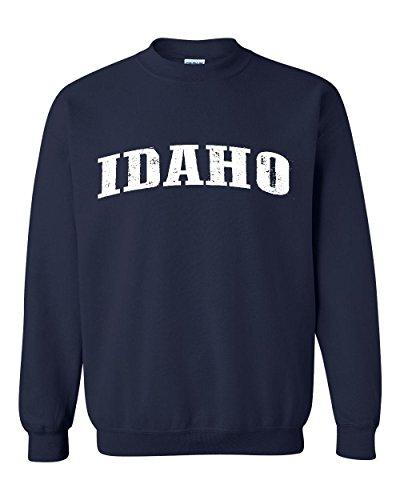 Idaho Vandal Sweatshirt (Ugo ID Idaho Flag Boise Yellowstone Map Home of Vandals University of Idaho Unisex Crewneck Sweatshirt)