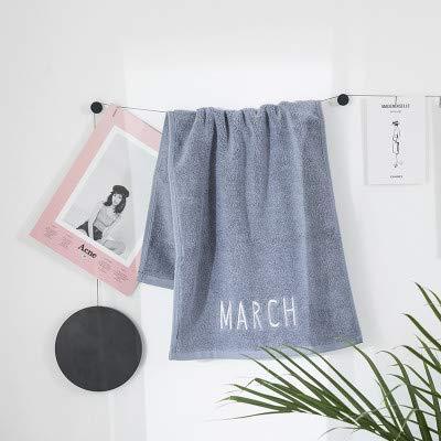 WLLLO Toallas Suaves de algodón, para Hombres y Mujeres, Toallas de baño para Adultos