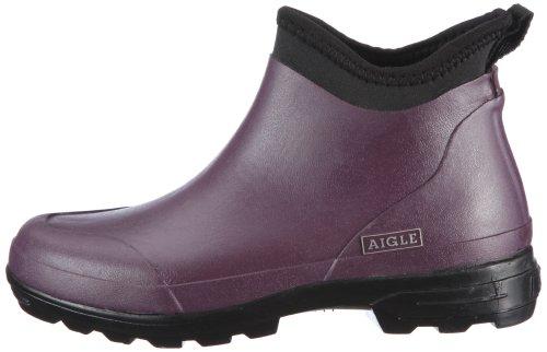 Purple 6 Aubergine Aigle Womens Violett Landfast Boots aPq7ztx