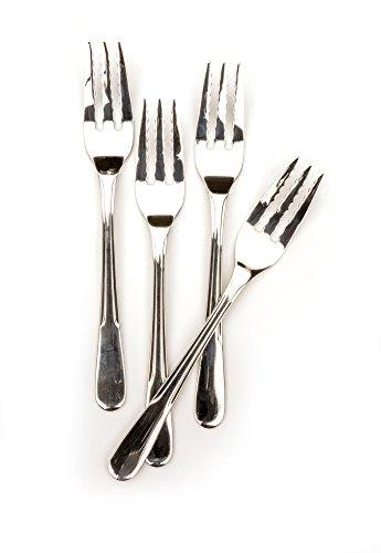RSVP Endurance 18/8 Stainless Steel Pasta Forks, Set of 4