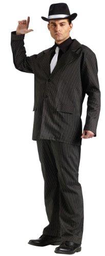 Fun World Men's Gangster 20s Pimp Suit Costume One Size Black