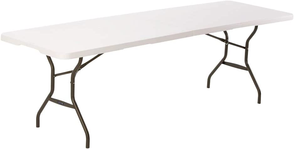 LIFETIME 80270 - Mesa plegable multiusos ultrarresistente 244x76x73,5 cm UV100