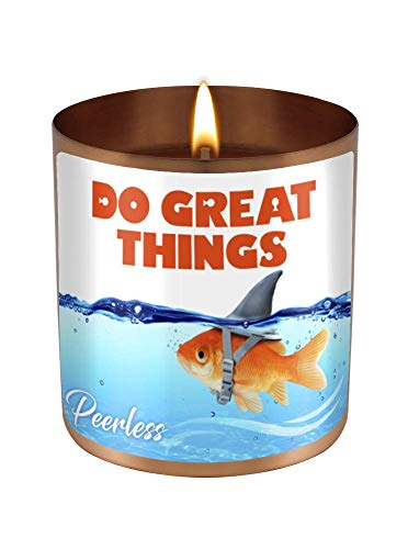 Do Great Things - A Candle for Daily Inspiration - Encouragement Gift - 11 oz Natural Soy Candle Hand Poured Made in The - Soy Candle Soy Inspiration