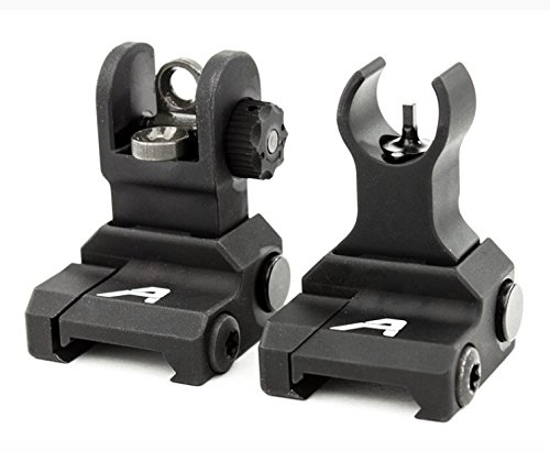 Aero Precision Ar15 Flip-Up Sight Set (Aprh100703) by Aero precision