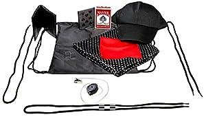 Street Magician Magic Set - over 80 possible tricks w/ storage bag