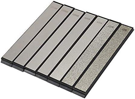 Vaorwne 80-200粒ダイヤモンドシャープニングアングル、砥石シャープニング、プロフェッショナルシャープナー、ツールバー7パック