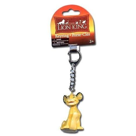 Amazon.com: Disney Rey León keychain-simba PVC Llavero: Toys ...