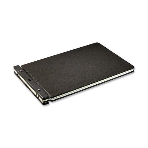 Wholesale CASE of 5 - Acco/Wilson Jones Raven Post Binders-Post Binder, 7'' Post Spacing, 2'' Cap,11''x17'', Black