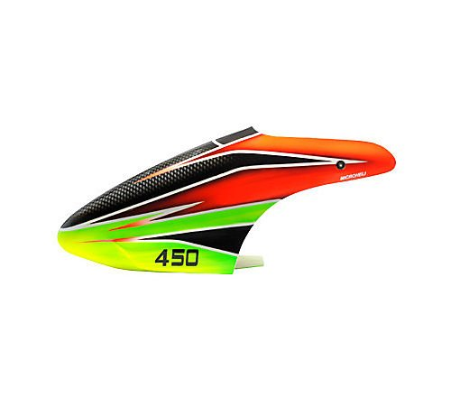 blade 450x yellow canopy - 2