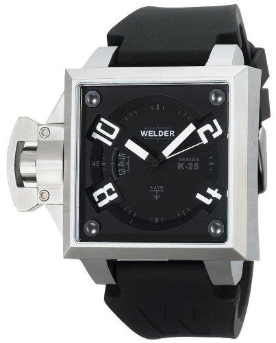 Welder K25B-4401 - Reloj de Pulsera Hombre, Acero Inoxidable