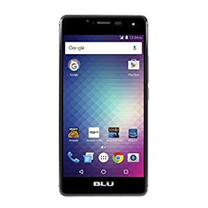 BLU R1 HD - 8 GB - Black - Prime Exclusive - with Lockscreen Offers & Ads