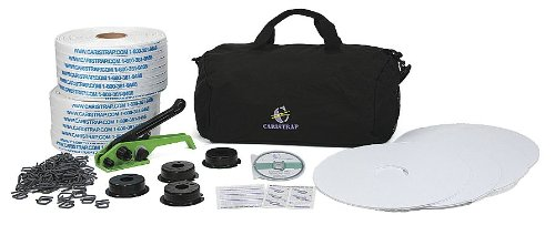 Strapping Kit, Polyester, 1640 ft. L by CARISTRAP