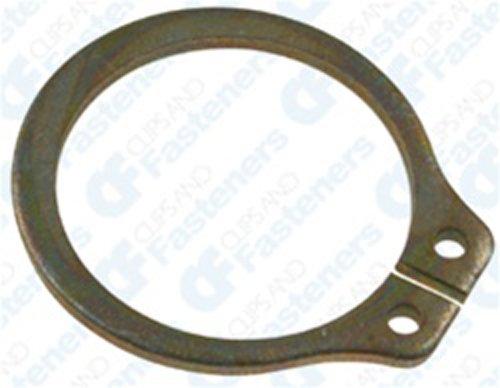 [해외]50 11 16 기본 외부 링 링 아연/50 11 16  Basic External Retaining Rings Zinc