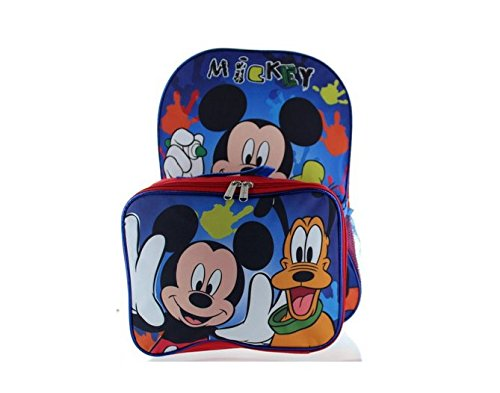 Mickey Mouse Friends Backpack Lunch