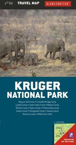 Kruger National Park (Globetrotter Travel Map)