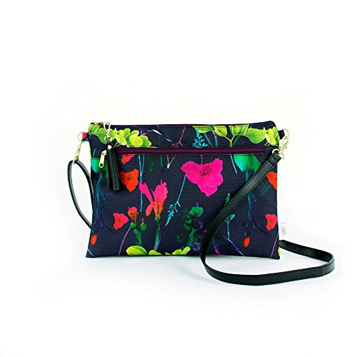 Women Botanica Small Bag Waterproof Detachable with Lightweight Strap for Clutch Cross Tassel and Cross Body Convertible Body gC1qBqFw