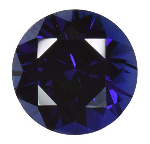 Blue Created Sapphire Loose Unset Gemstone Round 6mm